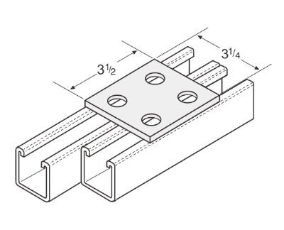 孔平面连接件 L1010