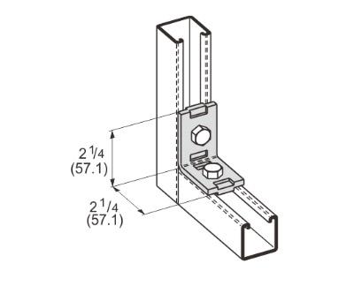 孔直角固定连接件 L1107