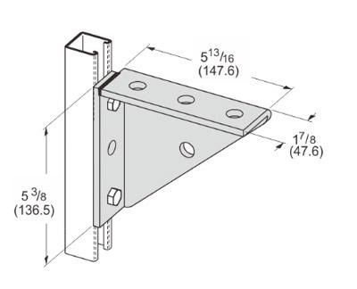 焊接三角支架 L1121
