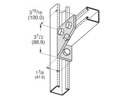 孔直角连接件(右) L1124
