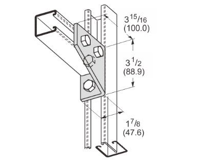 孔直角连接件 L1125