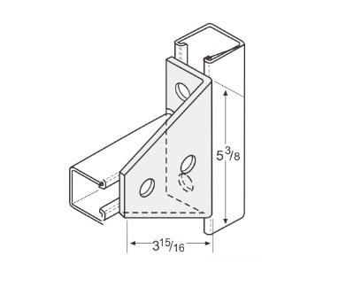 孔直角连接件 L1128