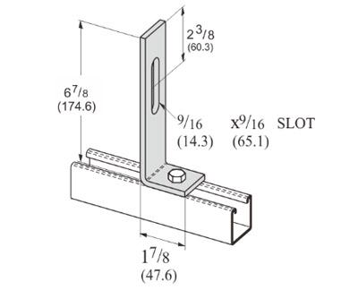 孔直角可调连接件 L1137
