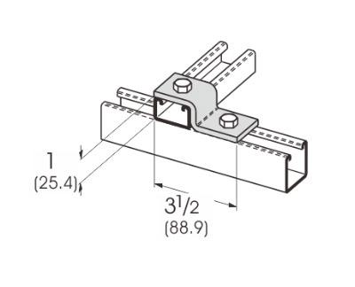 2孔Z型连接件 L1203