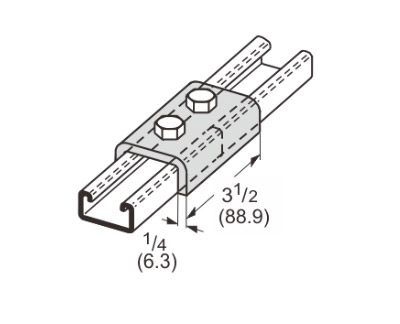 孔U型连接件 L1301