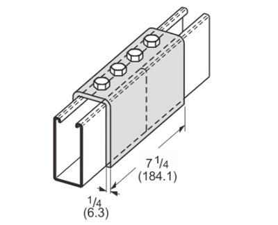 孔U型连接件 L1307