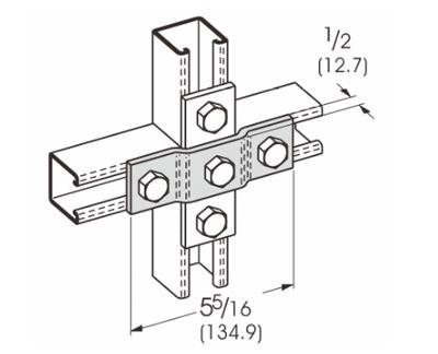 孔偏置平面连接件 L1310