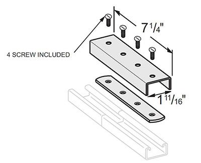槽钢拼接件 L1327