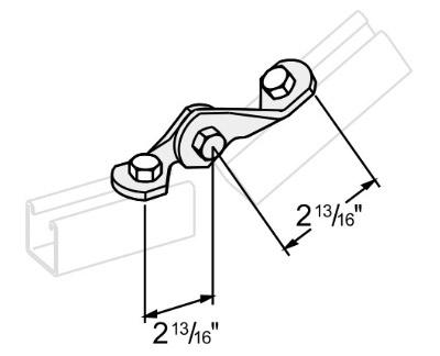 2孔铰连接件 L1408