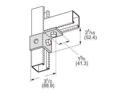 孔单角连接件(右) L1501