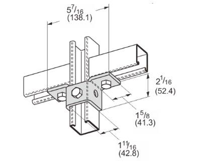 孔双翼连接件 L1512