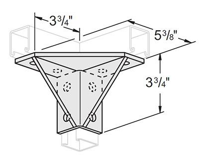 孔双角扣件连接件 L1519