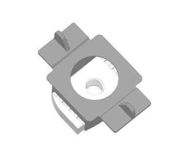 翼型槽钢锁扣A