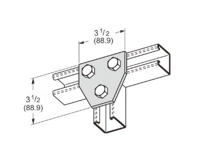 孔平面三通连接件 L1021