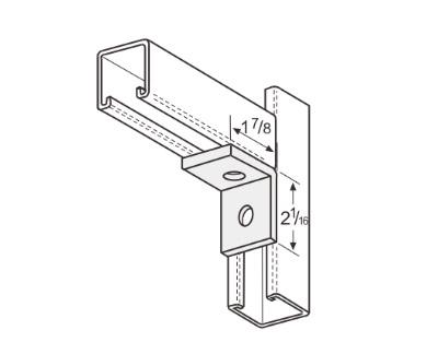 孔直角连接件 L1106
