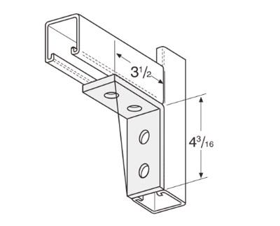 孔直角连接件 L1116