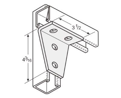 孔直角连接件 L1127