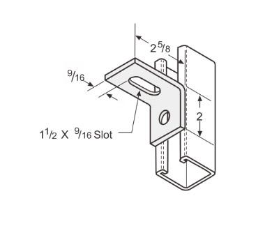 孔直角可调连接件 L1135