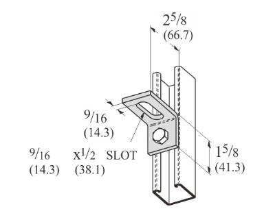 孔直角可调连接件 L1136