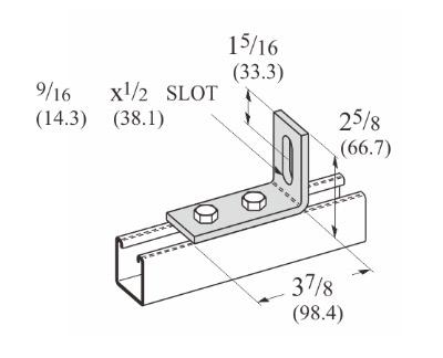 孔直角可调连接件 L1139