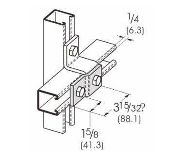 2孔Z型连接件 L1201