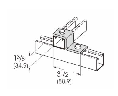 2孔Z型连接件 L1204