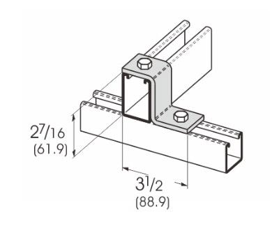 2孔Z型连接件 L1205