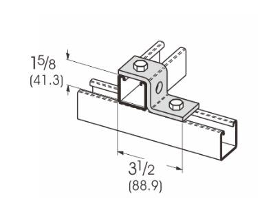 2孔Z型连接件 L1206