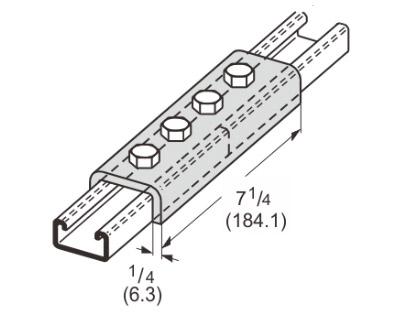 孔U型连接件 L1303