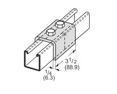 孔U型连接件 L1304