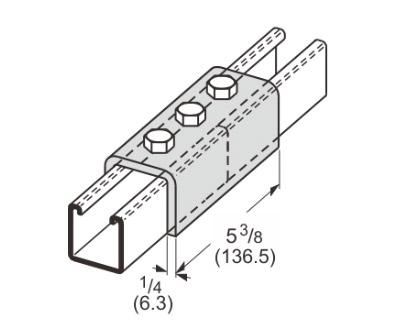孔U型连接件 L1305