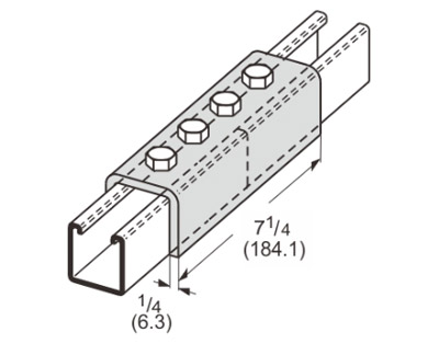 孔U型连接件 L1306