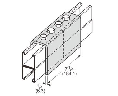 孔U型连接件 L1308