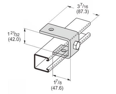 孔槽钢吊夹 L1325