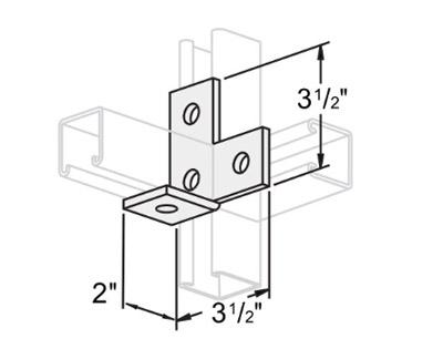 4孔直角连接件 L1403
