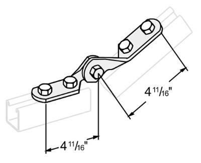 可调铰连接件 L1407