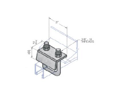 钢结构梁夹 L1412