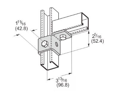 孔单角连接件(右) L1503