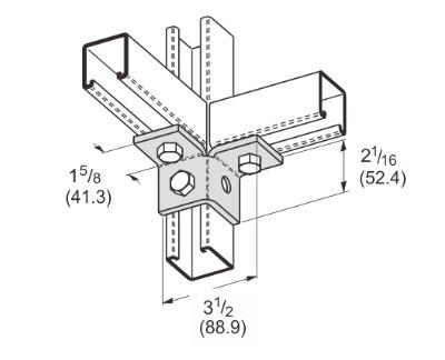 孔双角连接件 L1509