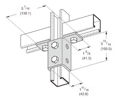 孔双翼连接件 L1513