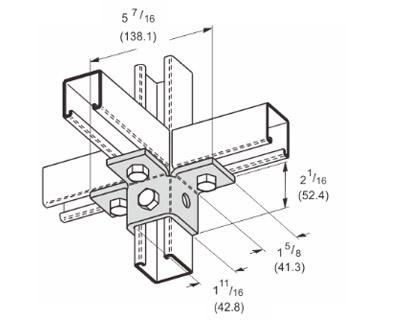 孔三翼连接件 L1515