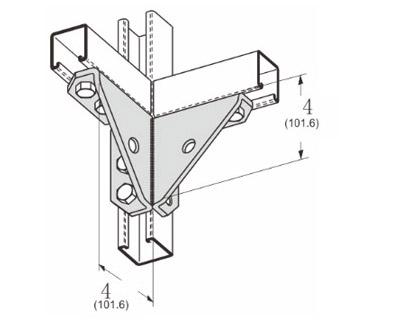 孔双角扣件连接件 L1518